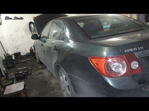 Замена задних тормозных колодок Chevrolet Epica