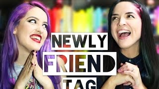 getlinkyoutube.com-NEWLY FRIEND BOOKTAG ft. Fa Orozco | RAINBOOK
