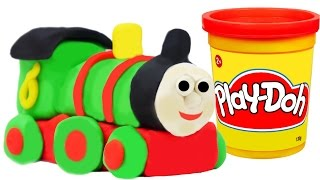 getlinkyoutube.com-Play Doh Train Percy We Make from Playdough Thomas and Friends Toys Trains for Children
