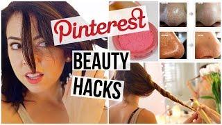 getlinkyoutube.com-5 Pinterest Beauty Hacks TESTED!