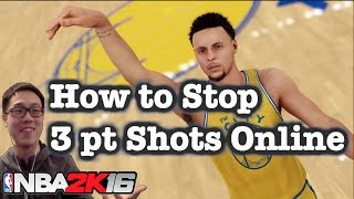 getlinkyoutube.com-NBA 2K16 Defense Tips: How to stop 3 point cheese. 2K16 How to defend online tutorial #92