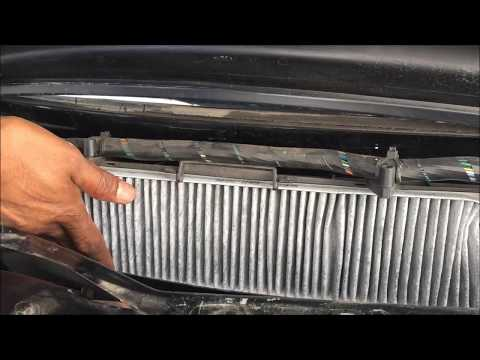 How to change Ford Mondeo cabin filter