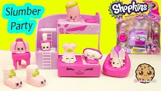 getlinkyoutube.com-Shopkins Season 5 Playset Slumber Party Fun Collection  Cookieswirlc Video