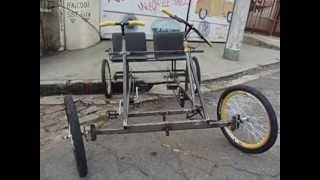 getlinkyoutube.com-Quadriciclo a pedal by Luiz Car