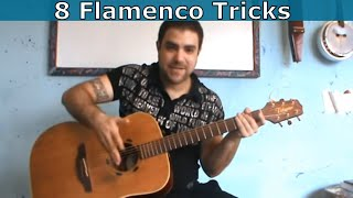 getlinkyoutube.com-8 Flamenco & Spanish Guitar Tricks Every Guitar Player Should Know  [Tutorial]