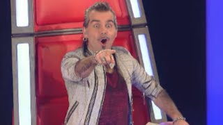Ira Green sings 'Black Dog' by Led Zeppelin The Voice Of Italy 2015 Blind Audition