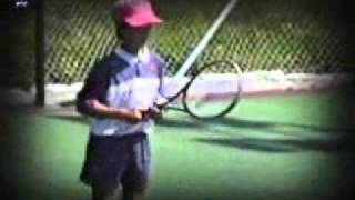 getlinkyoutube.com-Young Novak Djokovic / Mali Nole