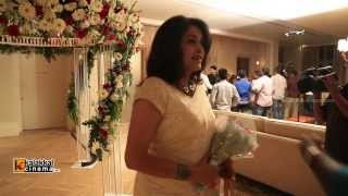 getlinkyoutube.com-Anchor Ramya and Aparajith Wedding Reception