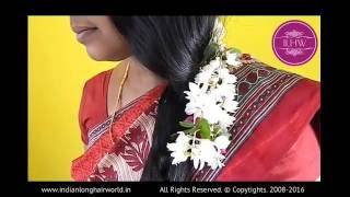 getlinkyoutube.com-ILHW Real Life Rapunzel Deepa New Hindu Year Hairstyling Promo