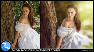 getlinkyoutube.com-Photoshop CC Tutorial - Change Background Fantasy Photo Effect Editing