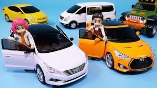 getlinkyoutube.com-Hello Carbot robot car toys 헬로카봇 아티 스카이 댄디 변신과 또봇 장난감