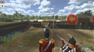 getlinkyoutube.com-Mount & Blade: Napoleonic Wars - Siege Event - 03/05/12 - Featuring the 77y