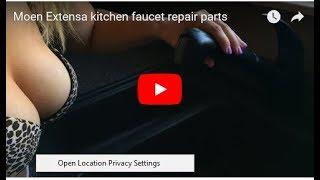 getlinkyoutube.com-Moen Extensa kitchen faucet repair parts