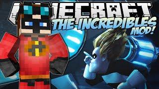 getlinkyoutube.com-Minecraft | THE INCREDIBLES MOD! (Become an Incredible & Frozone!) | Mod Showcase
