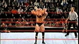 getlinkyoutube.com-Brock Lesnar vs Crash Holly (Dark Match)