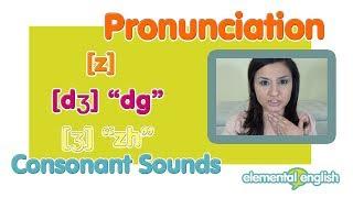"getlinkyoutube.com-[dʒ] ""dg"" and [z] vs. [ʒ] ""zh"" |  English Pronunciation Lesson"