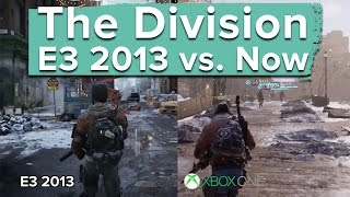 getlinkyoutube.com-The Division: E3 2013 vs. Now - graphics and gameplay comparison