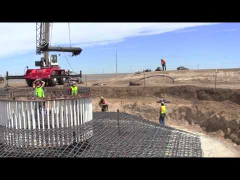 PaTu Wind Farm - Foundation Construction June 28 - July 10, 2010