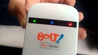 getlinkyoutube.com-Review Bolt 4G Mf90 Pakai Kartu Smartfren 4G LTE