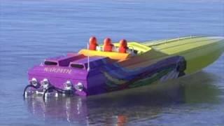 getlinkyoutube.com-Apache Chief Offshore RC Powerboat