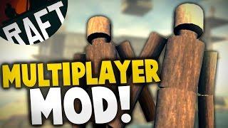 getlinkyoutube.com-Raft - MULTIPLAYER MOD! Co-op Building & Survival Mod!  - Let's Play Raft Multiplayer Gameplay