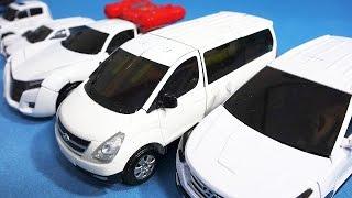 getlinkyoutube.com-헬로카봇 또봇 6대 스타렉스 댄디 또봇 X 에볼루션 Y 쉴드온 카봇 에이스 6 Hello CarBot TOBOT transformers car toys