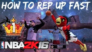 NBA 2K16 | Quickest Way To Legend 1! | How to Rep Up Fast! (Before Patch 3)