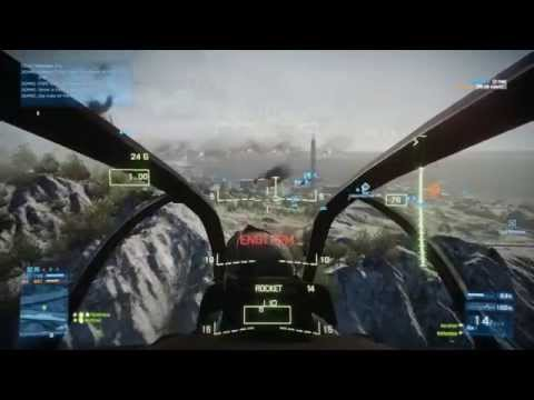 Battlefield 3 Kharg Island - Me and my misses flying Viper
