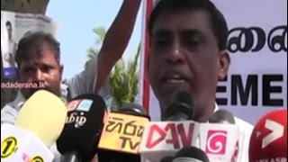 MK Sivajilingam commemorates Genocide Week in Valvettithurai