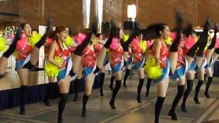 getlinkyoutube.com-チア☆ダンス BRUGAL Cheers × 早稲田 SHOCKERS