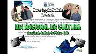 Nova Opção Notícias-Dia Nacional da Cultura.2017