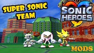 getlinkyoutube.com-Sonic Heroes Mods: Super Sonic Team