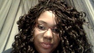 getlinkyoutube.com-Freetress Presto Curl  Braiding Hair 1 month review