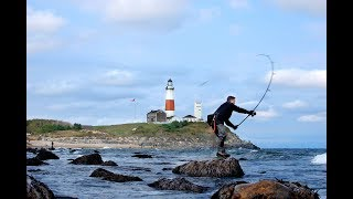 Surf Fishing 101 Episode #32 Lures for Montauk Lighthouse Full Episode