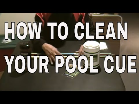 Pool Lessons - How to Clean Your Pool Cues