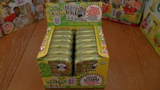 getlinkyoutube.com-UNBOXING COLLECTOR TIN ☆ Topps England FIFA WORLD CUP 2014 Trading Cards ☆ opening