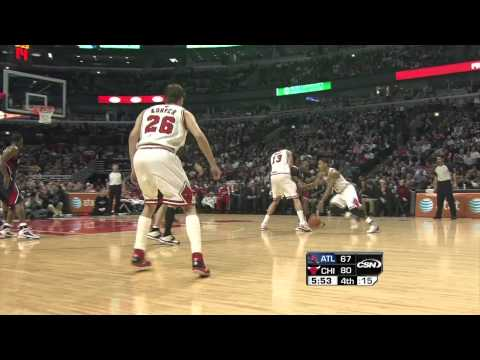 Derrick Rose Highlights vs. Atlanta Hawks 3/11 720p HD