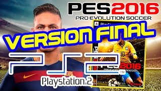getlinkyoutube.com-PES 2016 PS2 - Gameplay Español [PES 2016 PS2 Ultimate Team]  VERSION FINAL