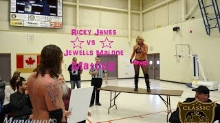 getlinkyoutube.com-Jewells Malone vs Ricky James - March 8, 2015