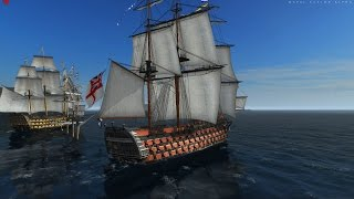 getlinkyoutube.com-Naval Action: The big red one