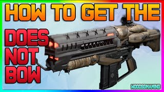 "Destiny: How To Get The Does Not Bow ""Legendary Auto Rifle"" - ""Taken King"" - The Shadow Thief"