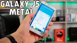 getlinkyoutube.com-Samsung Galaxy J5 Metal || Primeiras Impressões (BRASIL)