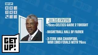 Julius 'Dr. J' Erving interview: What really happened between him and Larry Bird | Get Up! | ESPN