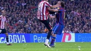 getlinkyoutube.com-Leo Messi se rompe el pomulo