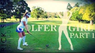 getlinkyoutube.com-GOLFER GIRL & RICK SHIELS COURSE VLOG PT1