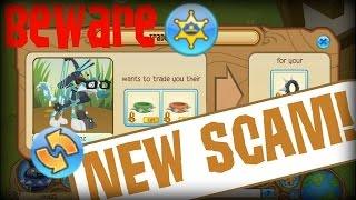 getlinkyoutube.com-ANIMAL JAM  New scam B̲E̲W̲A̲R̲E̲