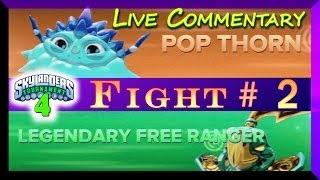 getlinkyoutube.com-Skylanders Swap Force PVP Battle Mode Tournament # 4 Pop Thorn Vs Legendary F Ranger F#2