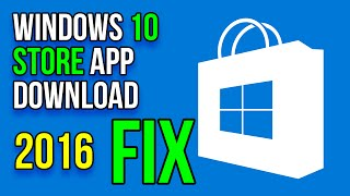 How To Fix Windows 10 Store App Download Problem 2016 | Error code 0x80072EFD & 0X80240438