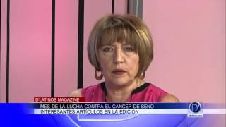 La editora en jefe de D'Latinos Magazine, Ethel Palací, nos habla de la edición de Octubre