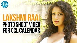 getlinkyoutube.com-Lakshmi Rai Latest Hot Photo Shoot Video For CCL Calendar | Telugu
